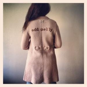 Odd Mollys crochet grandmas coat