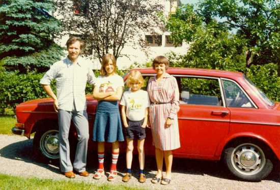 Hela familjen 1976