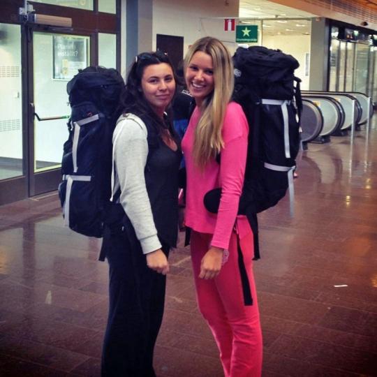 Barbie has left for Asia
