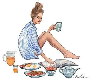 Frukost i lugn och ro