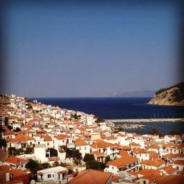Utsikten från vårt hotell