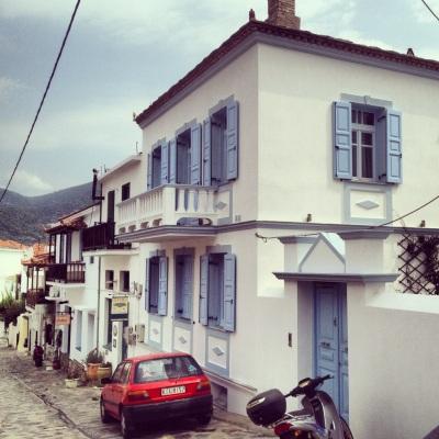 Skopelos gränder