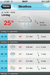 Väderrapport