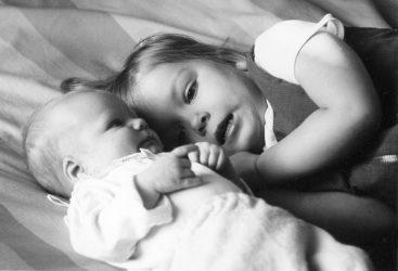 1967 - Jag 3 år och Lillebror 2 månader