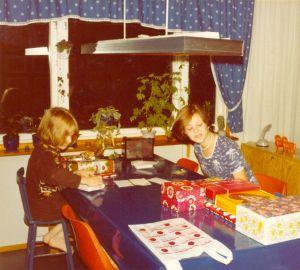 1978 - Jag 14 år o Lillebror 11