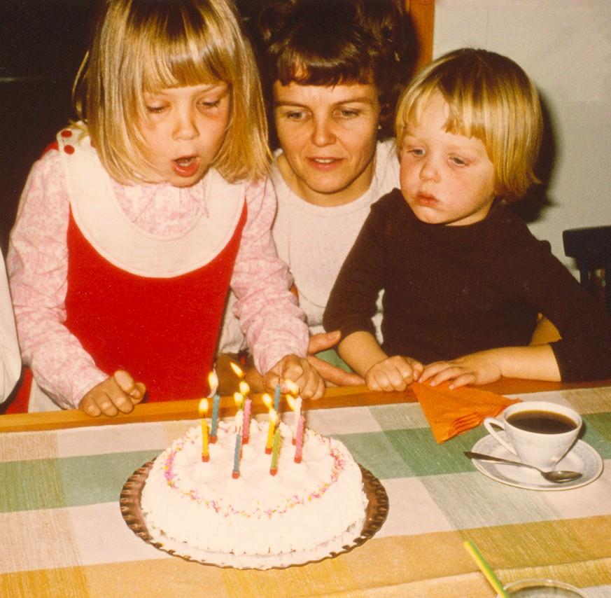 1971 - Jag 7 år och Lillebror 4