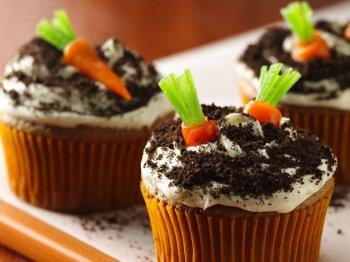 Morots cupcakes