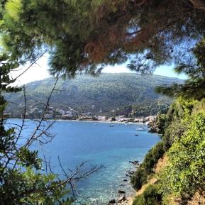 Utsikt mot Megali Ammos