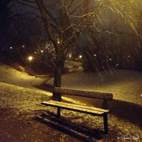 Årets första snö, Blåkulla 121128