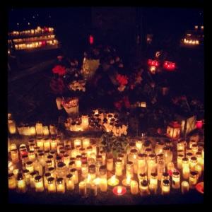 Katolska minneslunden på Norra Begravningsplatsen
