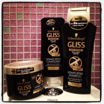 Schwartzkopf Gliss hair repair