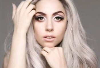 Lady Gaga goes grey