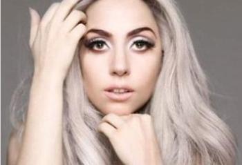 Lady Gaga goes grey