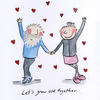 Lets grow old together