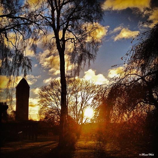 Novembermorgon - Blåkulla