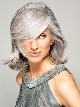 Snygg i grått hår