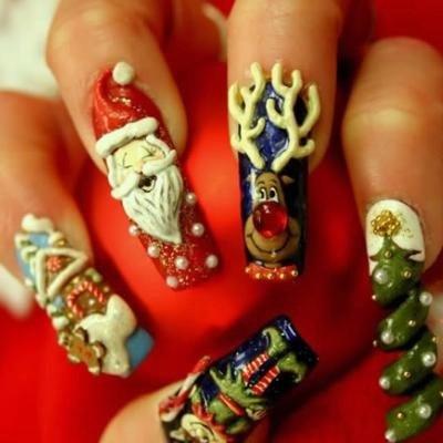 3D naglar till jul?