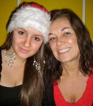 Med min vackra tomtedotter, sötaste D