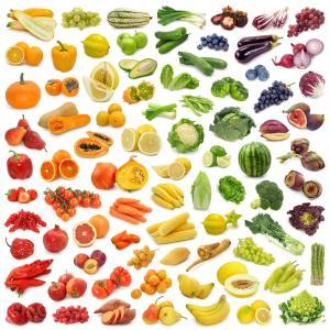 Livets goda - frukt o grönsaker