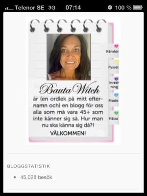 45000 besök till BautaWitch.se