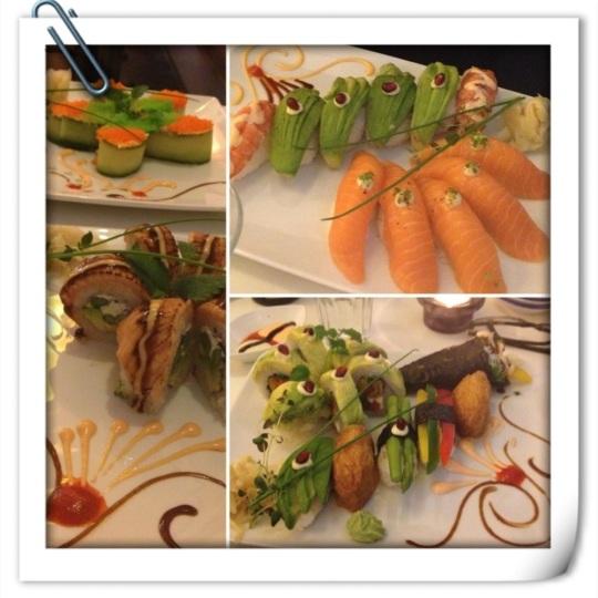 Sushi som små konstverk a la Sushikungen