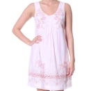 Double D dress i lite rose