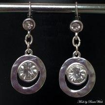 Silverörhängen Made by BautaWitch