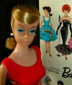 Swirl vintage Barbie från 1964