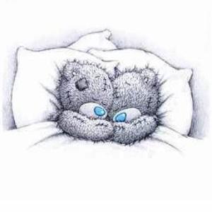 Tatty Teddy in sleep