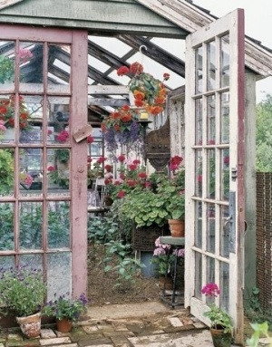 Charming old greenhouse