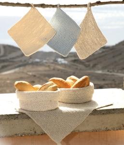 Virkade brödkorgar