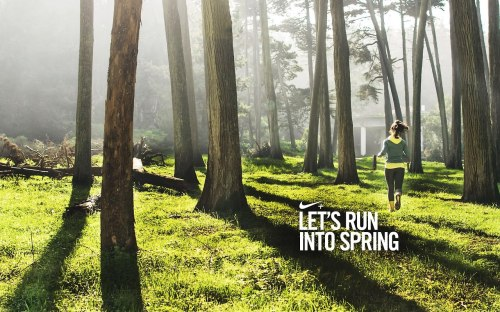 Lets run into spring