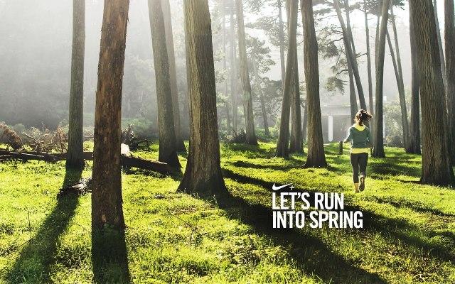 Lets run into spring