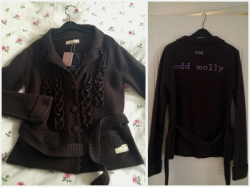 Odd Molly Tenfold knit jacket