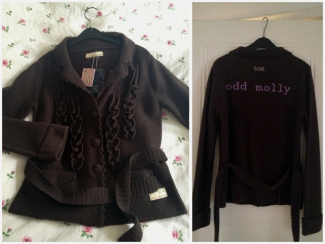 Odd Molly Tenfold knit jacket