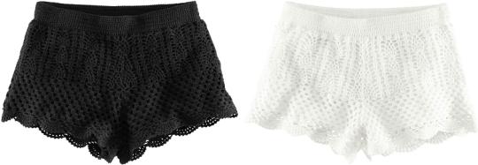 Virkade shorts från H&M 199 kr
