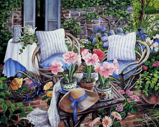 Art_painting_of_Susan_Rios__Amaryllis