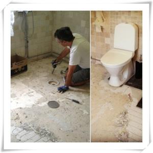 Rivning av badrum