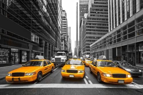 Yellow cabs NY