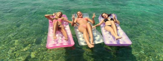 Beachbabes i Dubrovnik