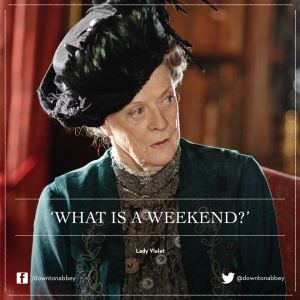Downton Abbey weekend