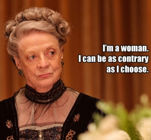 Downton abbey woman