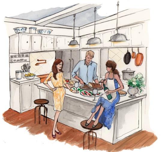 gaster i koket