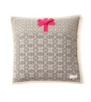 101 lovely knit pillowcase grey melange