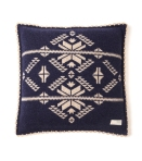 102 snowflake pillow case mid indigo