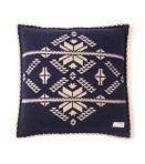 102 snowflake pillow case mid indigo