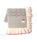 103 lovely knit blanket grey melange