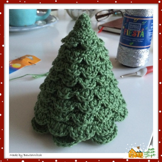 Christmas tree in progress2