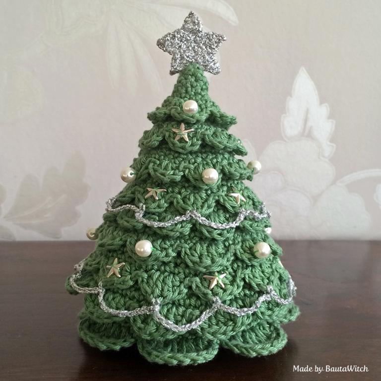 Crochet Christmas Tree Pattern #crochet #freepattern