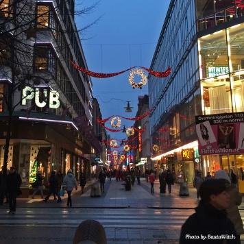 Drottninggatan och PUB